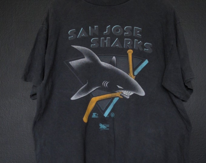 San Jose Sharks NHL 1990s vintage Tshirt