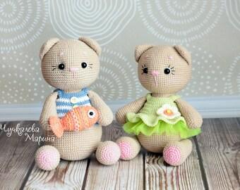 PATTERN Motya the little kitten PDF crochet pattern