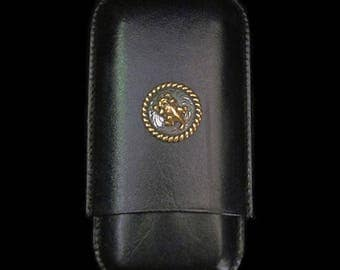 Horned Toad Cigar Case