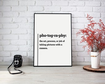 PRINTABLE Typography Motivational Photography Quote Art Print Digital Download Print At Home artwork