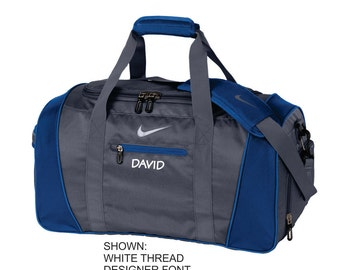 Personalized Duffel Bag, Nike Gym Bag, Custom Travel Bag, Monogrammed Sports Bag, Team Bag, Custom Bag for Him. TG0241