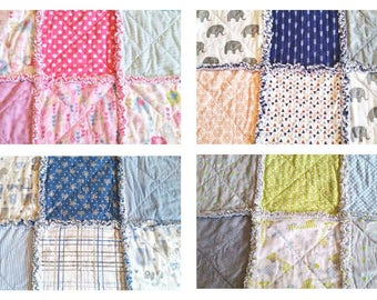 Baby Rag Quilts - Ready to ship