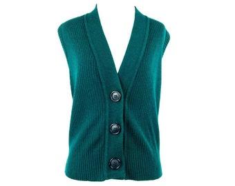 Heavy wool vest | Etsy