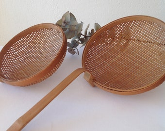 Pair of bamboo ladle / Bamboo ladle