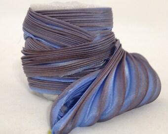 Silk ribbons Shibori N 112