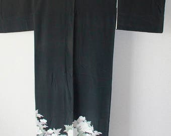 Black TOMESODE Dress 008