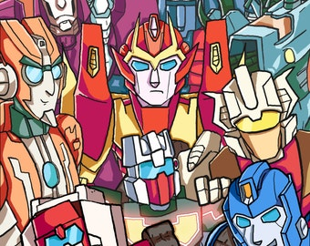 Transformers MTMTE line up