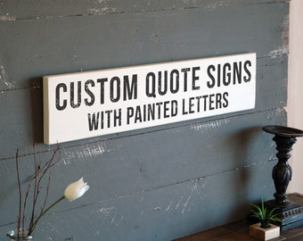 "Shop ""custom wood sign"" in Home Décor"