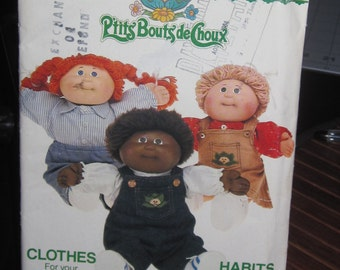 Boss Butterik 6508 Cabbage Patch Kids/Ptits toddlers doll VINTAGE