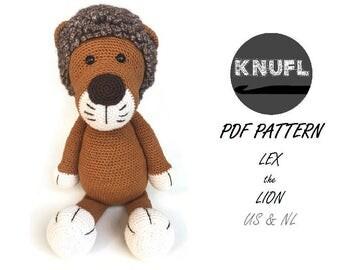CROCHET PATTERN Lion Lex