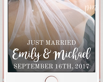 Wedding Snapchat Geofilter, Wedding Geofilter, Snapchat Filter, Geofilter Wedding, Wedding Snapchat Filter With Bride and Groom Names
