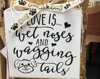 Dog Lover Sign