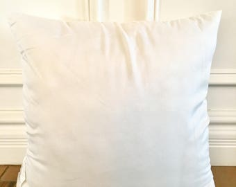Pillow insert, synthetic down pillow