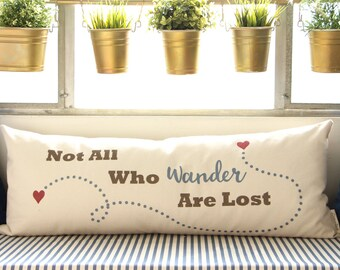 Those Who Wander, Gift for Traveler, Gift for Her, Gift For Him, 2nd Anniversary Gift, Home Decor, Wanderlust
