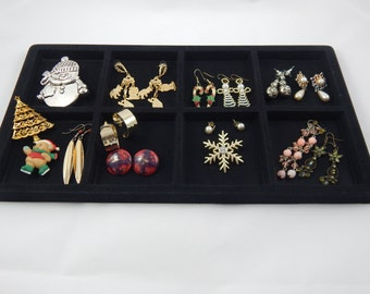Vintage Collection of Earrings and Pins 14 Items