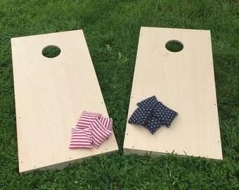cornhole boards regulation size and sturdy - Cornhole Sets