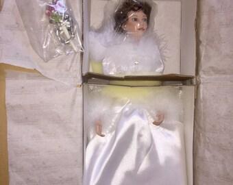 Ashton Drake Winter Romace Doll Brand New
