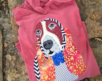 Comfort Colors Patchwork Ellie Mae T-Shirt Hoodie