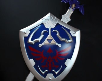 Legend of Zelda - Hylian Shield & Master Sword