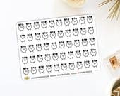 Clock Planner Stickers | Made for Bullet Journaling 627M