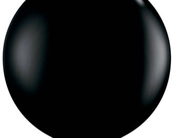 Jumbo Black Latex Balloon/36 Inches/Round/Party Decorations/Large Balloons/Balloon Bouquet