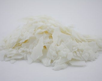 Wax soy chips for candle making