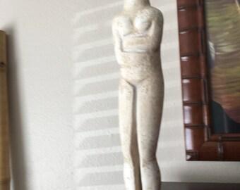 Alva Museum Replica of Greek Pre-HELLENIC CYCLADIC SCULPTURE by Bastis Master