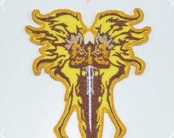 Diablo III Inspired Patch. Archangel Patches. Auriel, Tyreal Inspiered patches. Iron on, Sew on, Veclro Patches. Custom Patches.