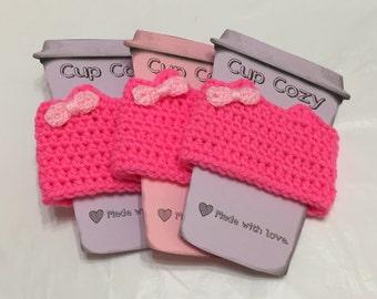 Crochet Pussycat Cup Cozy, Crochet Coffee Cozy, Pussycat Crochet, Women's Movement