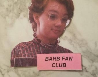 Barb Fanclub Stranger Things Sticker