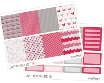 Sweetheart Set Planner Stickers