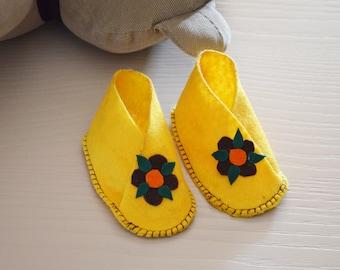 Newborn Floral Shoes