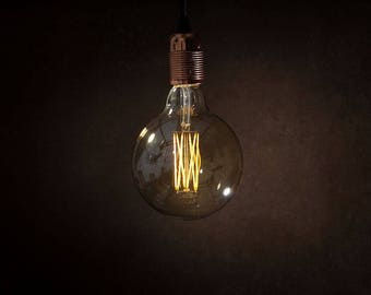 Danlamp LED G125 Mega Edison Full Glass Long Filament Globe Dimmable Bulb
