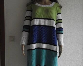 Dress/long sweater, size M/L, art. No. KU 170