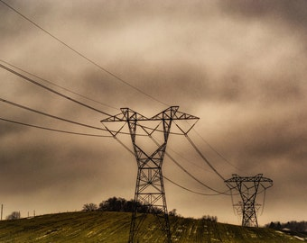 Stormy Power Lines
