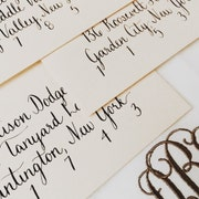 Custom Handwritten Calligraphy And Envelope By Magnolialetters