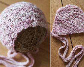 Starburst Newborn Bonnet