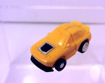 1984 Transformers G1 Mini Spy yellow Porsche!
