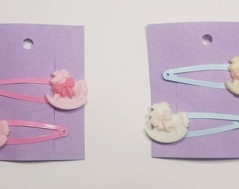 Kawaii Pair of Hair Clips