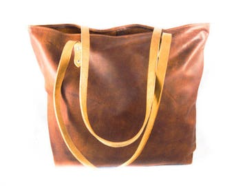 Shopper hunter bag COUNTRY STYLE  LADIES  leather shopper bag