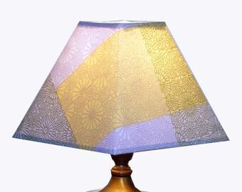 Square Marimekko fabric Kioto Lamp Shade