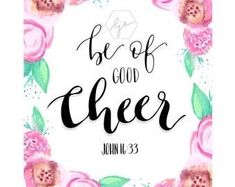 Be of Good Cheer (PDF)