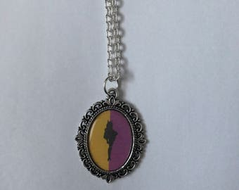 Batgirl Cameo Necklace