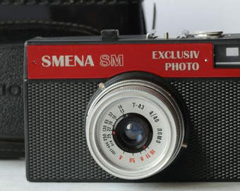 Smena 8M. Exclusiv - Photo. Soviet camera. LOMO.Small-format