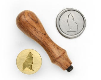 Howling Wolf - Design OD Wax Seal Stamp (DODWS0255)