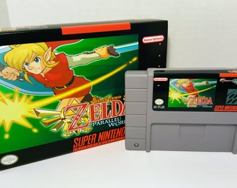 The Legend of Zelda: Parallel Worlds - English NTSC SNES