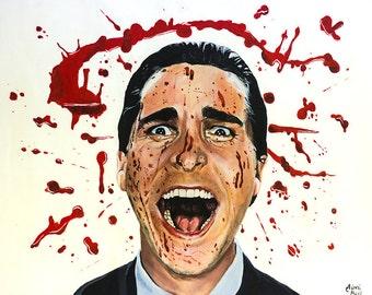 A3 American Psycho Print