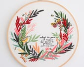 ON SALE!!! - Preprinted Fabric Pattern - Pace of Nature - Thread Folk and Lauren Merrick - Artist Series