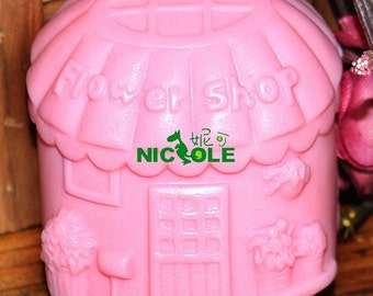 Flower Shop Silicone Mould