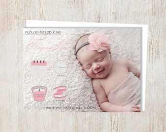 Birth Announcement - Girl